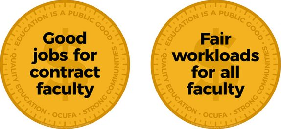 Social Media Day of Action - Fairness for Contract Faculty  Banner Image