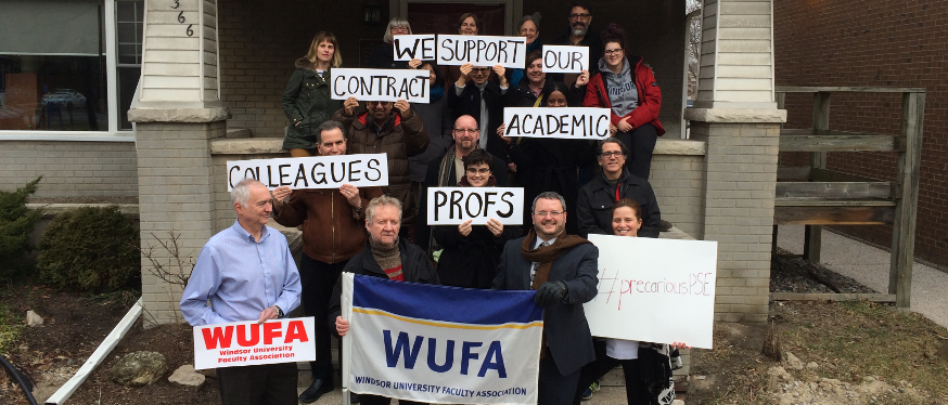 Conference, day of action to challenge rise of precarious work at Ontario universities  Banner Image