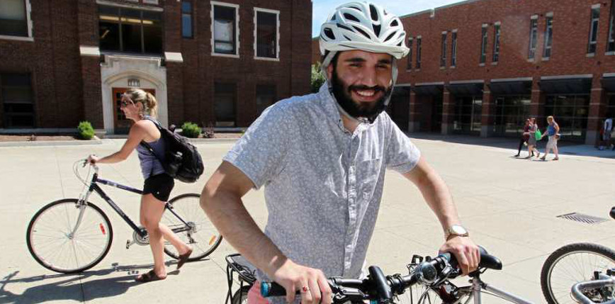University of Windsor to start bike-sharing program; city could be next  Banner Image