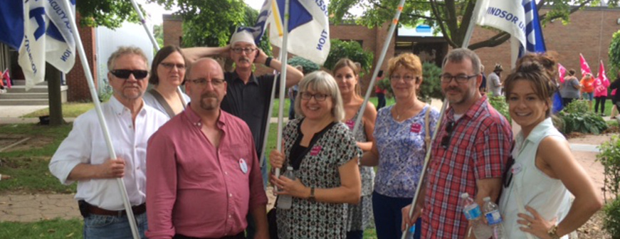 WUFA supports CUPE 2974  Banner Image