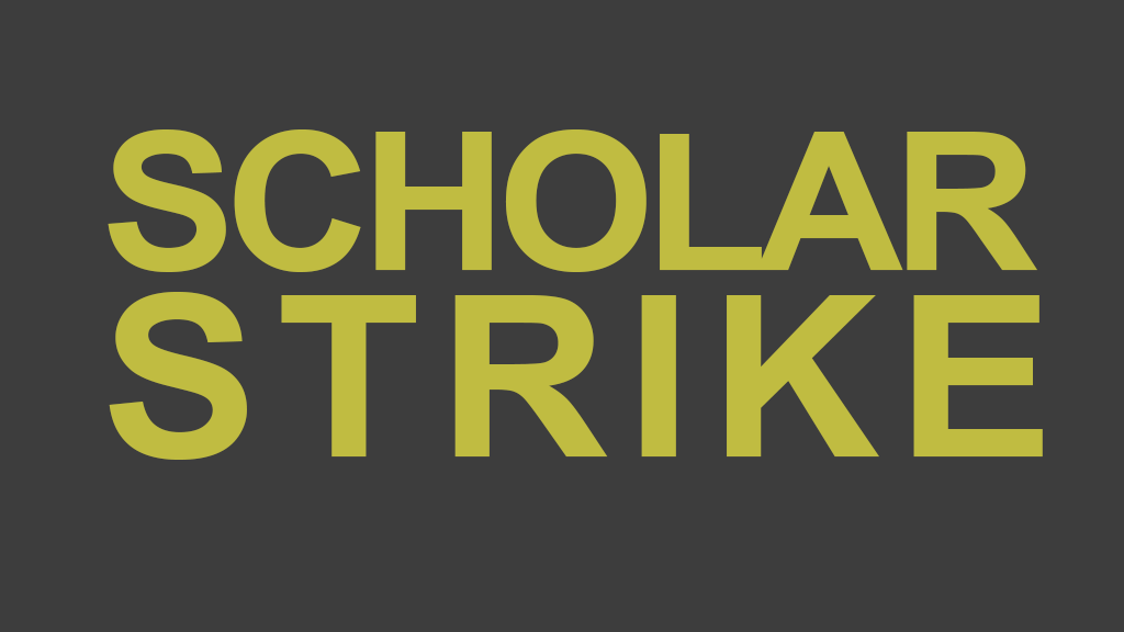 Scholars Strike for Racial Justice  Banner Image