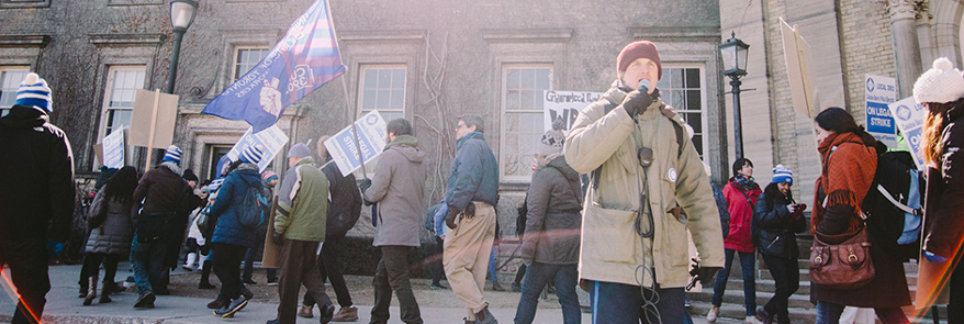 CUPE 3902 files labour complaint against U of T  Thumbnail Image